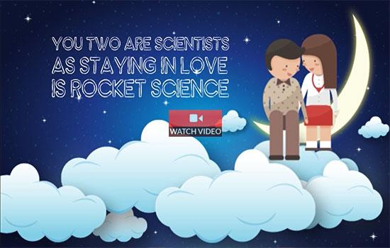 Coz Love Is Rocket Science!