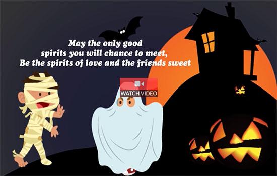 Good Halloween Spirits!