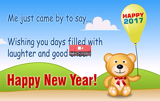 New Year Wishes!