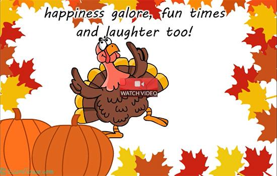 Thanksgiving Turkey Dance!