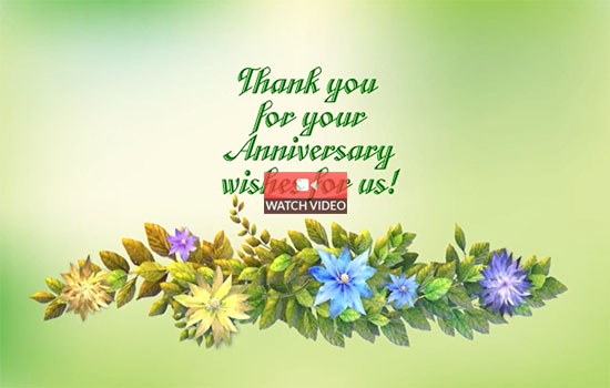 Thank You For Your Wishes!