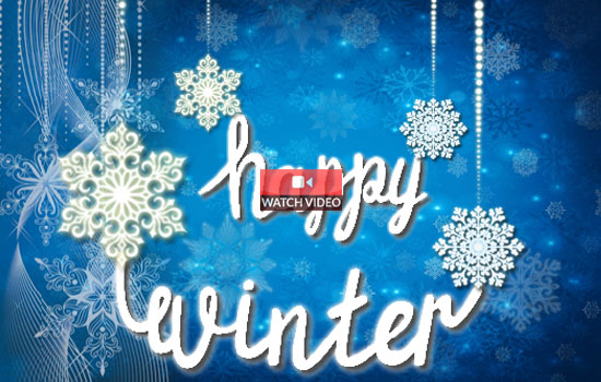 Wish a happy Winter!
