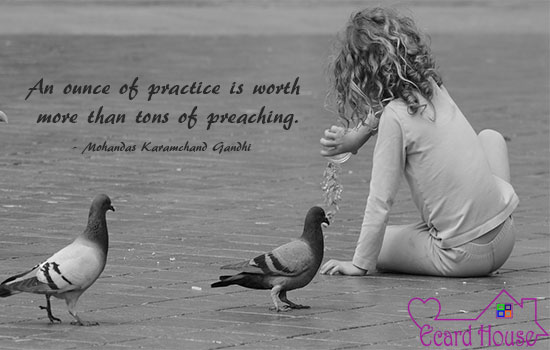 Practice over preaching