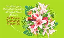 Engagement Flowers!