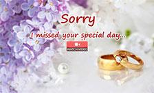 A Belated Wedding Wish!